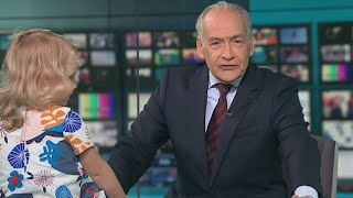 Little Girl Adorably INTERRUPTS ITV Lunchtime News Segment - FUNNY FAILS | What's Trending Now!