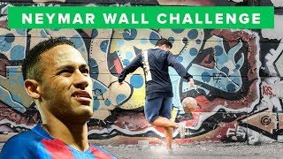 UNISPORT | Neymar Wall Challenge | Who'€™s got most football skills?
