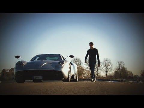 Pagani Huayra - Test mit Adrian Sutil