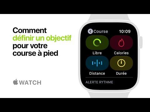 AppleWatch Series4 —Comment définir un objectif pour votre course à pied — Apple