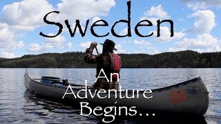 A Canoe Trip in Sweden  - The Adventure Begins!   Day One and Gear Loadout.