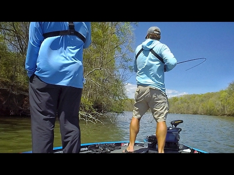 How to practice for a Bass Tournament. Ft. LunkersTV, FLAIR and the Hiwassee KING
