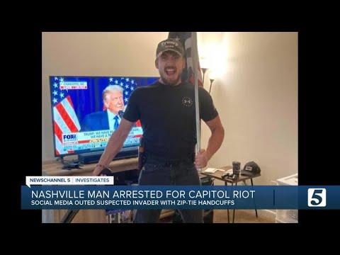 FBI arrests Nashville zip-tie suspect from assault on U.S. Capitol