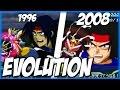 Evolution of SHINING FINGER (1995-2008) | シャイニングフィンガー | SRW