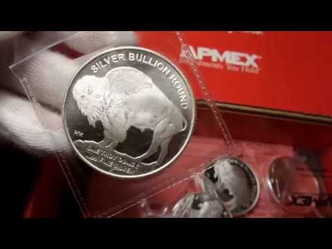 Apmex Unboxing Video 1 Oz Silver Buffalo Rounds