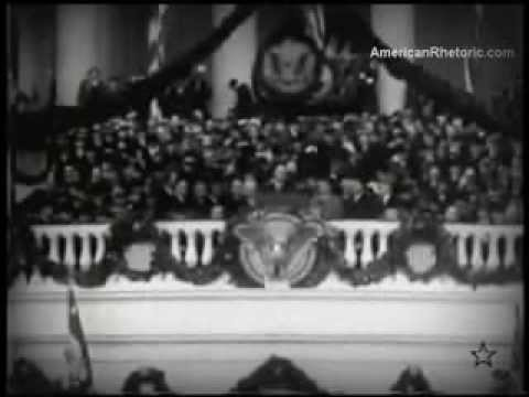 FDR Nothing to Fear But Fear Itself 1933 Inaugural Address