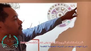 شرح استخدام البروجكتر التفاعلي benq mw855ust