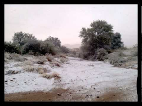 OneAfrica TV - Local News - Snow in Namibia