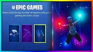 "How To Get *FREE* Pickaxe, Glider and Contrail ""Playstation Celebration Pack"" in Fortnite BR"