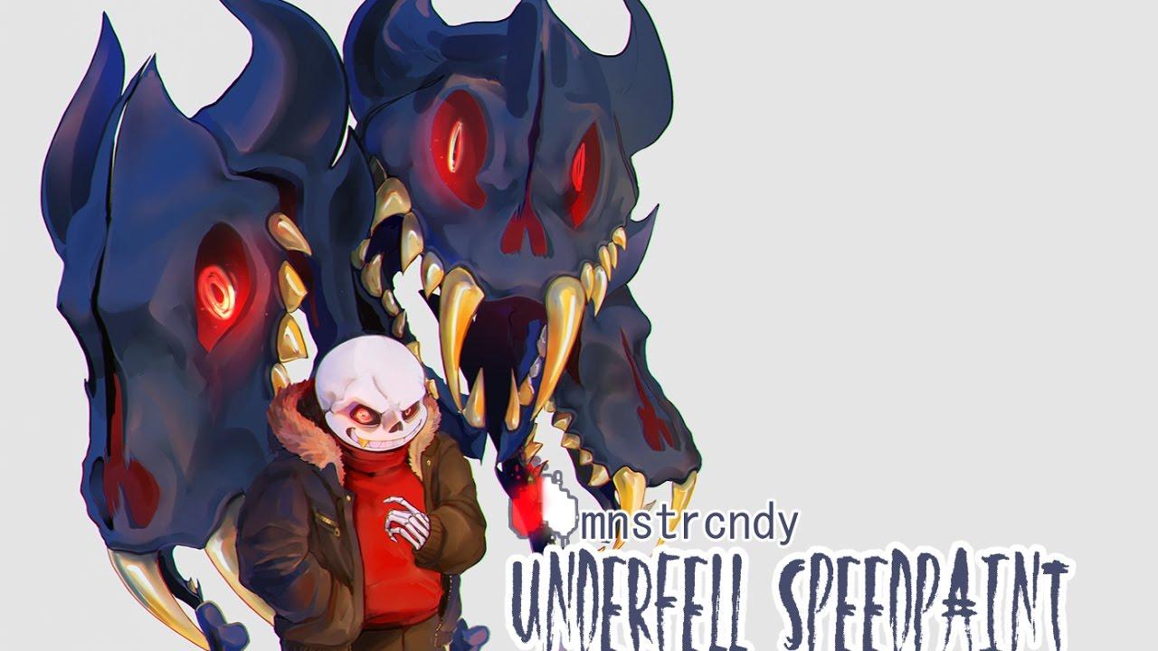 Underfell Speedpaint - Sans Free Download Video MP4 3GP M4A