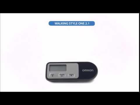Omron Genuine Digital Pedometer Activity Monitor Walking Style Hj 321 Youtube