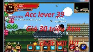 Ninja School Online | Review con hàng 39 chất nhất game trị giá 30 triệu :3