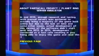 Planet Ring (Dreamcast, 2000). Gameplay de presentación - Servidores online desde 2013