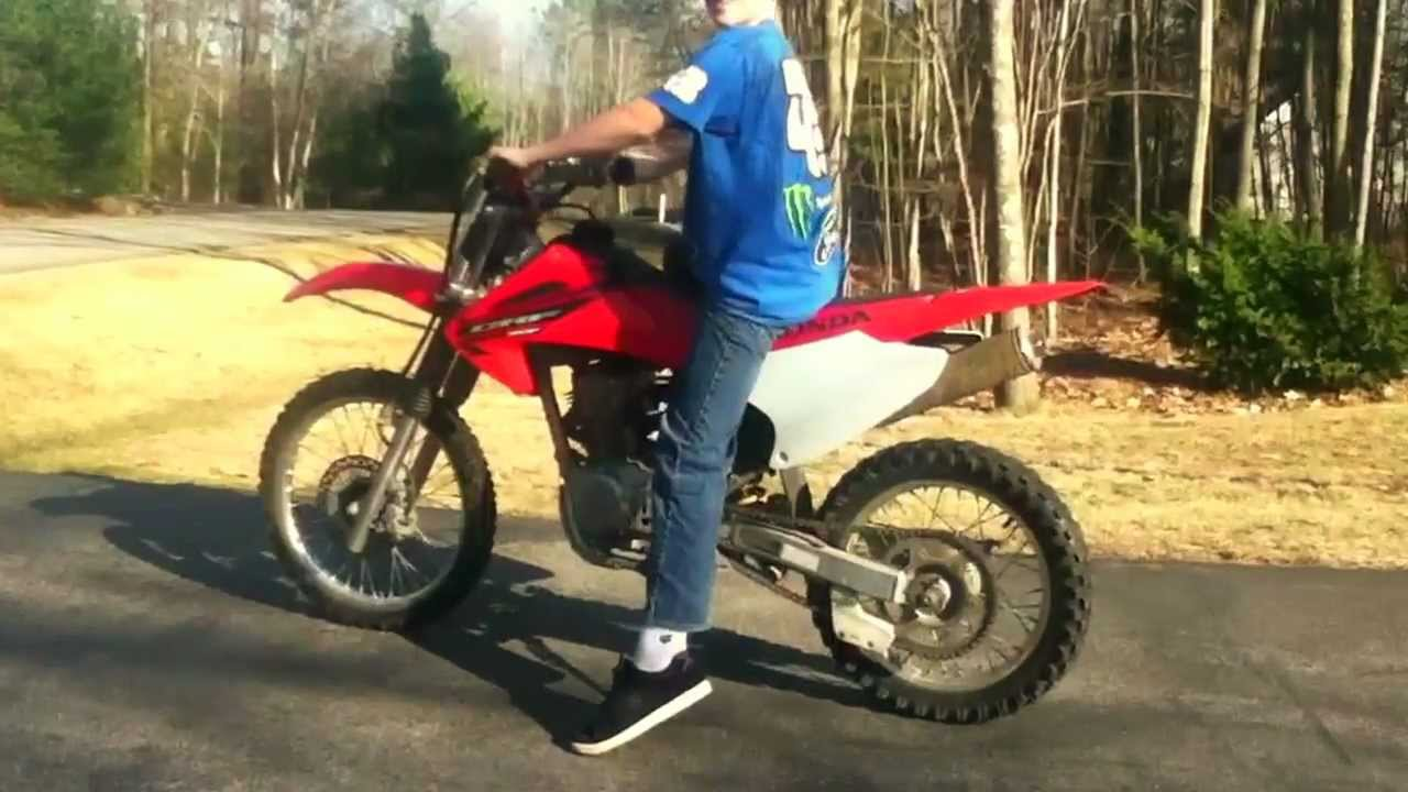 Honda Crf150f Review Youtube