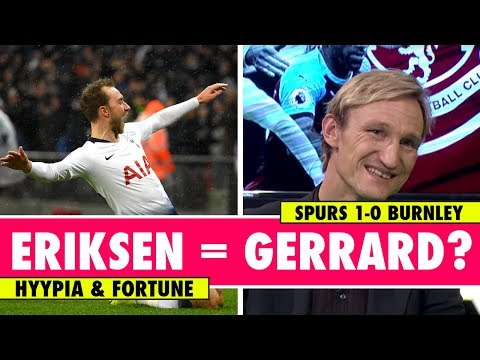 Why Eriksen is not world class | Tottenham 1 - 0 Burnley | Astro SuperSport