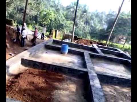House foundation work pucchamogaru part 1 youtube - Best kind of foundation pict ...