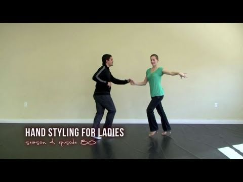Learn Basic Hand Styling for Salsa Dancing