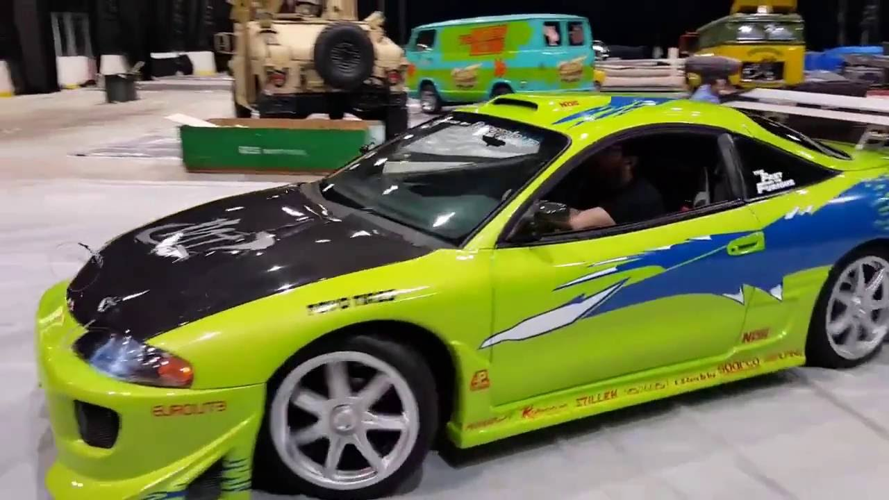 paul walker 39 s mitsubishi eclipse gs from fast furious youtube. Black Bedroom Furniture Sets. Home Design Ideas