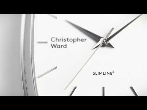 Christopher Ward C5 Malvern Slimline Square 1080p