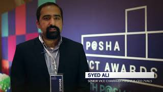 Syed Ali at P@SHA ICT Awards 2017