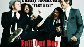 """Fall Out Boy """"VERY BEST"""" Funny Moments. 100% Guarantee Of Laughter"""