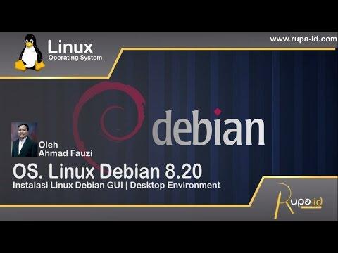Install Linux Debian 8   GUI