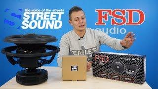 FSD 165M VS STREET SOUND MDR M65  Сравнение и обзор динамиков! АЧХ и прослушка