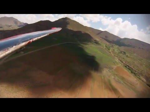 Lesotho-Malealea Gopro flight