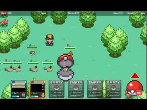 Pokemon tower defense 1 and 2 unblocked games 66