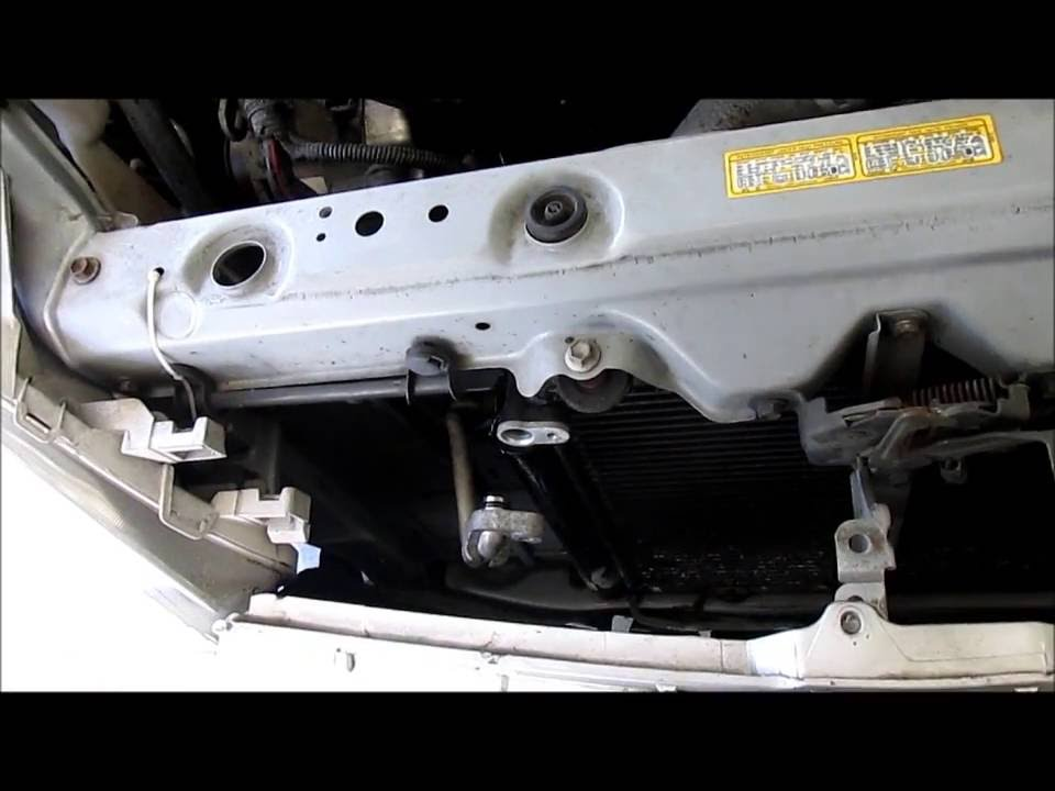 Replacing The A C Condenser In A Toyota Echo Youtube