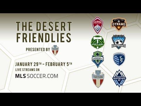 HIGHLIGHTS: The Desert Friendlies - Colorado Rapids vs Portland Timbers
