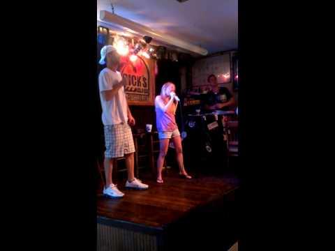 Rick's karaoke Key West Florida.