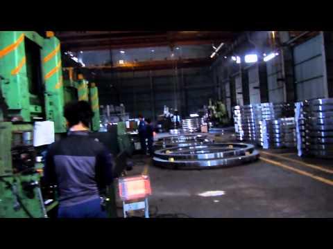 wind flange SHM (shin heung machinery) forged metal products-Busan, South Korea