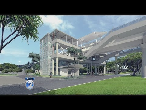 HART unveils plans for rail station at Honolulu International Airport