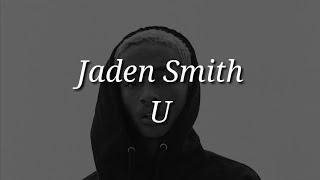 Chords For Jaden Smith U Lyrics