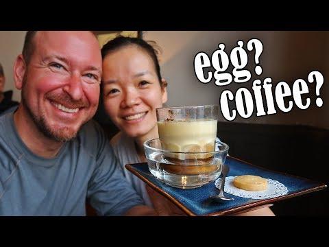 An Interesting Walk Around Hanoi, Vietnam | Egg Coffee, Shops, Food