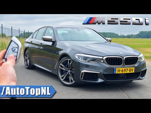 2020 BMW 5 Series M550i 530HP 4.4 V8 BiTurbo REVIEW on AUTOBAHN [NO SPEED LIMIT] by AutoTopNL