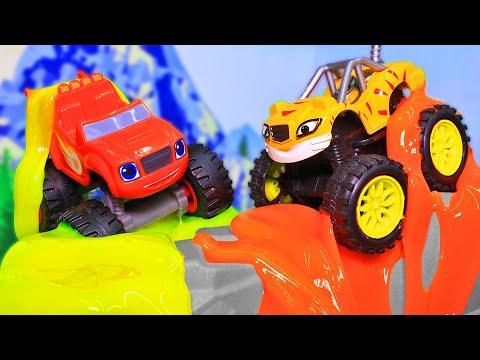 Вспыш и чудо машинки: Мультики для детей! Поучительные мультфильмы 2019 с игрушками все серии подряд
