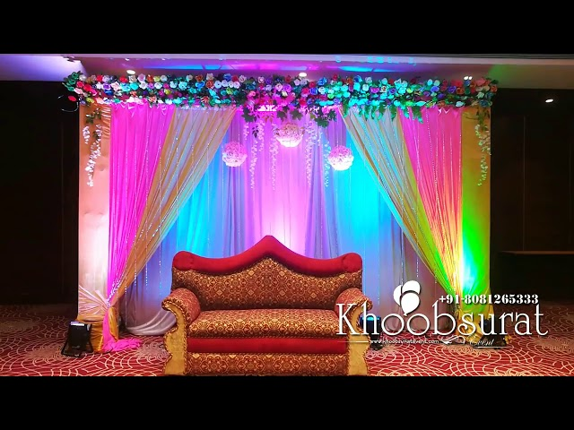 2019 Engagement Stage Khoobsurat Events