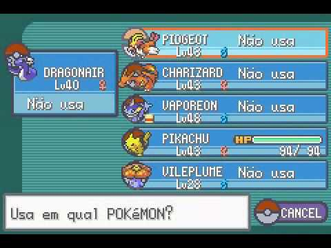 Pokemon Fire Red [EXTRA]  Evoluindo o Pikachu!  YouTube