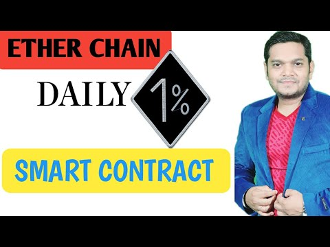 ETHER CHAIN New Ethereum Smart Contract ROI Plan in 《Hindi 》