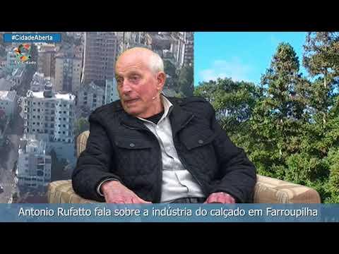 Antonio Rufatto fala sobre a indústria do calçado em Farroupilha