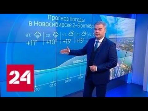 """""""Погода 24"""": Сибирь ожидает резкое похолодание - Россия 24"""