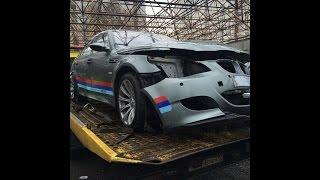 BMW E60 Замена переднего амортизатора
