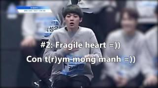 Thanh niên yếu tim nhất PD101- The Produce101's Weakest Heart- Kim TaeMin (Funniest moments)
