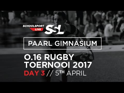 Paarl Gim U16 Rugby Tournament, Day Three, 05 April  May 2017