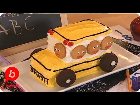 School Bus Cake Ideas
