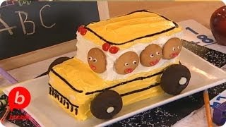 How to Make a Back-to-School Bus Cake  Food &amp Cooking  Babble