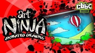 CBBC: Art Ninja - How to animate your drawings
