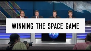 Elon Musk - Winning The Space Game. CRS8 (Launch and Land)